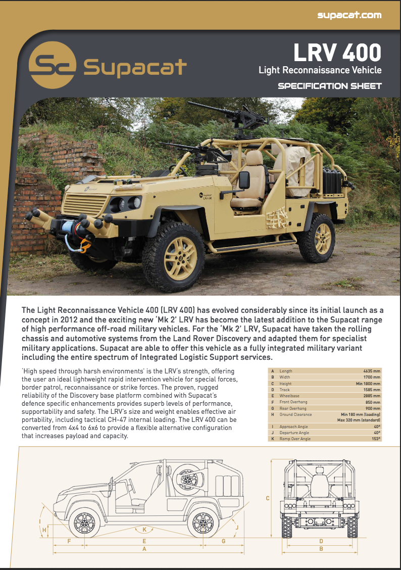 Supacat_LRV 400_Data Sheet_v2_10-15