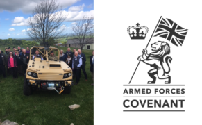 Supacat Re-signs Armed Forces Covenant