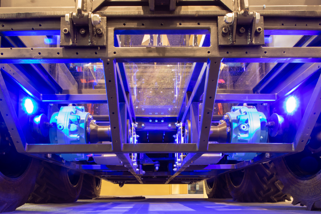Underside of autonomous hybrid ATMP